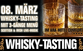 "ARA Hotel Comfort, ""Whisky Tasting"" Anzeige DINA4"